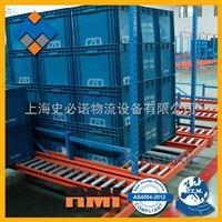 上海重力式托盘货架厂 【史必诺】重力式托盘货架 上海货架