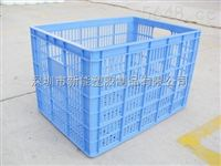 深圳新能塑膠670*470*420的報裝 電子注塑周轉籮筐